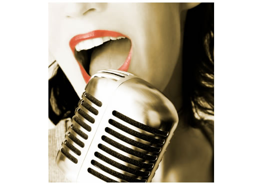 woman singing $55 for 5 x 1hr Basic Singing + Free $50 selected dance class voucher + 10 dance party tickets worth $150